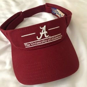 Alabama university visor